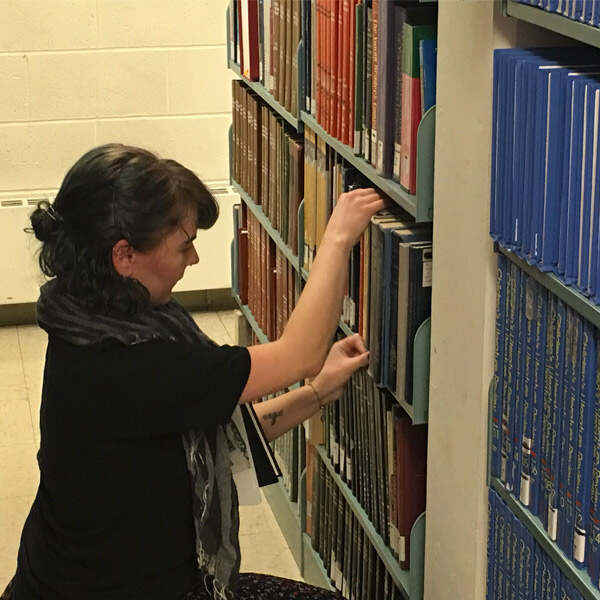 Taking inventory of a library collection