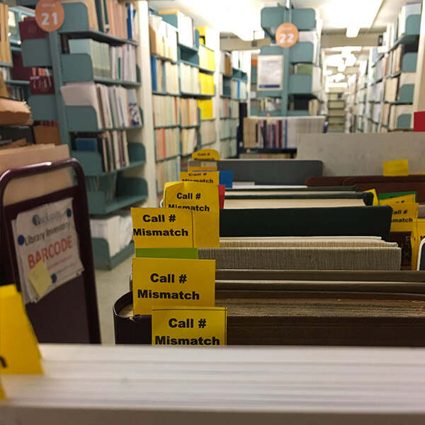 library inventory services