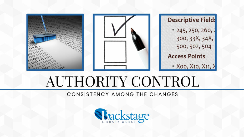 Authority Control Consistency Among the Changes